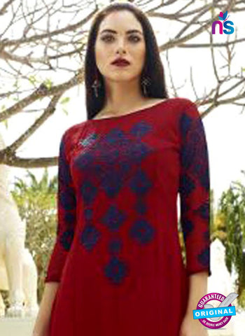 Eternal 360 Maroon Designer Party Wear Tunic