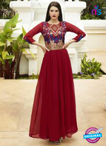 Eternal 361 Maroon Designer Party Wear Tunic