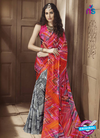 LT 1001 Grey Casual Saree