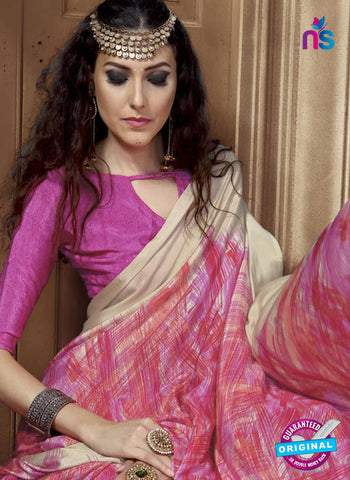 LT 1006 Pink Casual Saree