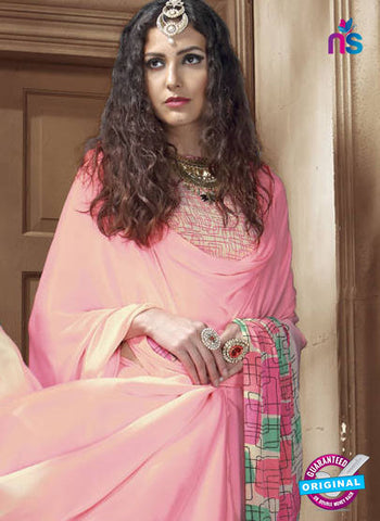 LT 1009 Pink Casual Saree