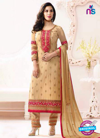 Karma 4010 Beige Party Wear Suit