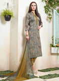 Sahiba MN 05 Beige Color Cotton Designer Suit