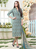 Sahiba MN 06 Blue Color Cotton Designer Suit