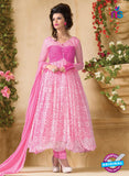 NS 11964 Pink Party Wear Designer Anarkali Suit