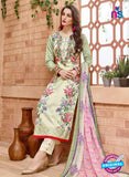 SC 13834 Green Cotton Satin Designer Fancy Exclusive Straight Suit