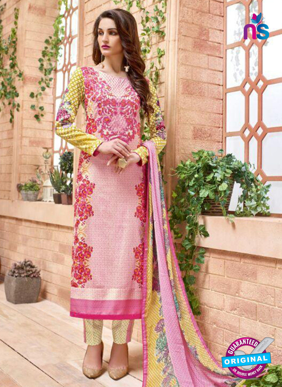 SC 13830 Pink Cotton Satin Designer Fancy Exclusive Straight Suit