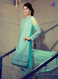 NS11430 Blue Party Wear Georgette Pakistani Suit