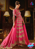 AZ 3856 Magenta Silk Party Wear Suit Online
