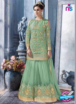 Sybella S-85 Green Pakistani Suit