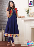 SP 1094 - Blue and Red Color Georgette Anarkali Suit