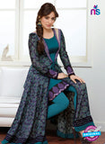 SP 2002 - Blue Color Georgette Anarkali Suit