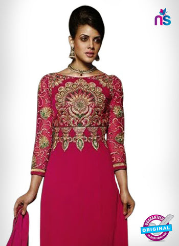 SC 14330 Pink Georgette Party Wear Suit