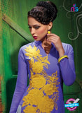 AZ 2348 Blue  Georgette Fancy Designer Party Wear Kurti - Kurtis - NEW SHOP