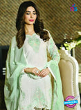 buy White Georgette Party Wear Pakistani  Suit