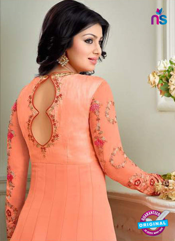 Meera 8751 Peach Anarkali Suit