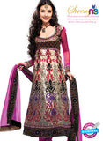 NS 11974 C Pink Party Wear Designer Anarkali Suit