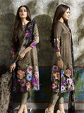 NS10636  Brown Color Pashmina Long Designer Suit