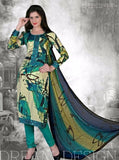 NS10699  Beige & Sea Green Color Pashmina Designer Suit