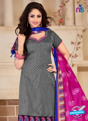 NS10682 Grey and Pink Silk Designer Suit