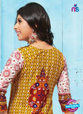NS 12012 Yellow and Red Pakistani Suits Online