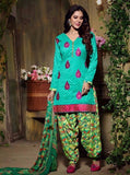 Hemani 28004A  Sea Green Color Pashmina Designer Suit