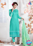 NS10738 Sea Green Georgette Party Wear Straight Suit