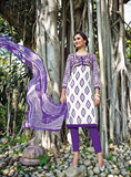 Jinaam Acromatic 8396 Purple Color Cotton Designer Suit