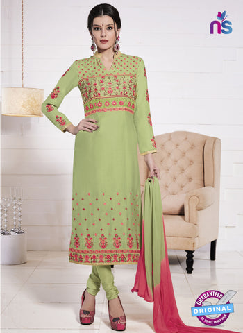 MZ 15060 Green Party Wear Suit