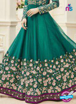 MZ 18002 Sea Green Anarkali Suit