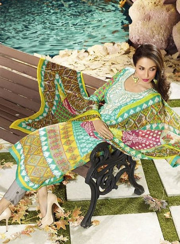 NS10613  Multicolor Cotton Designer Suit