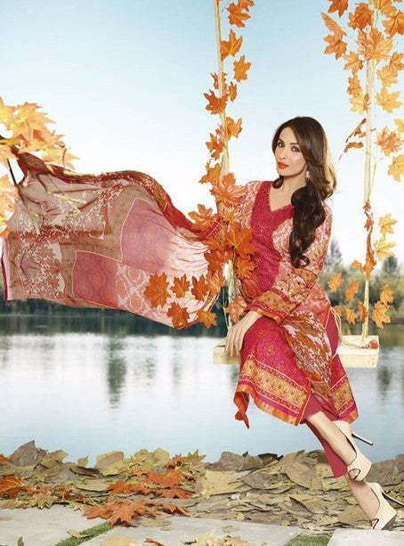 NS10614  Red Cotton Cotton Designer Suit