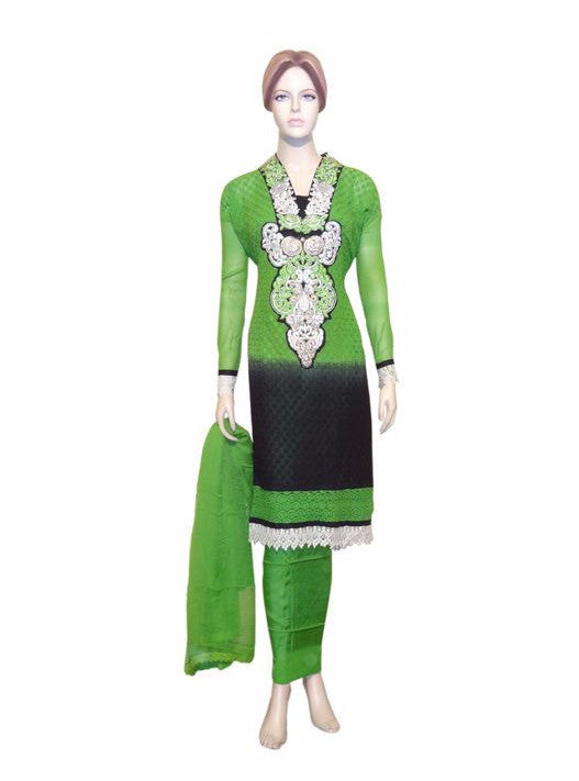 Maple 1006  Green Color Georgette Designer Suit