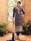 Maple 12108  Blue Color Georgette Long Designer Suit