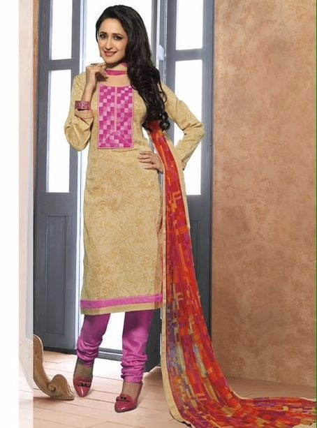 Marsfab 2002  Beige Color Cotton Designer Suit