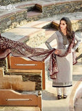 Omtex Amaira 1059 White & Black Color designer suit
