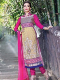 Pari 2906B  Pink Color Georgett Designer Suit