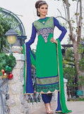 Pari 2910B  Green Color Georgette Designer Suit