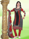 NS11367  Green & Black Color Pashmina Designer Suit
