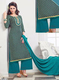 NS11389  Blue Color Pashmina Designer Suit