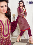 NS11390  Purple Color Pashmina Designer Suit