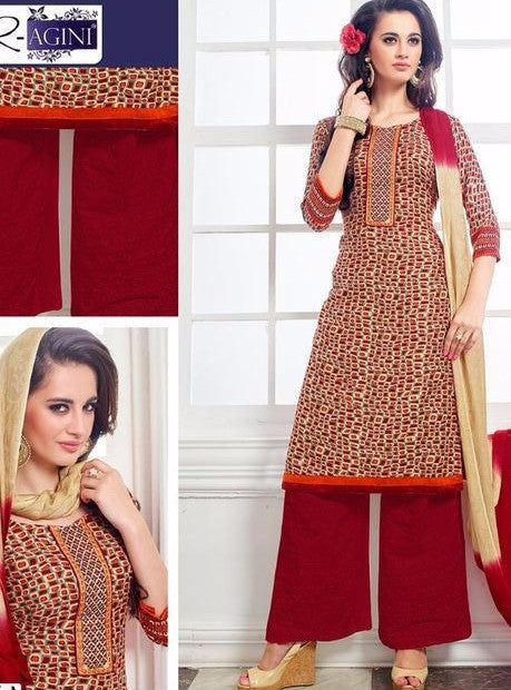 NS11391  Maroon Color Pashmina Designer Suit