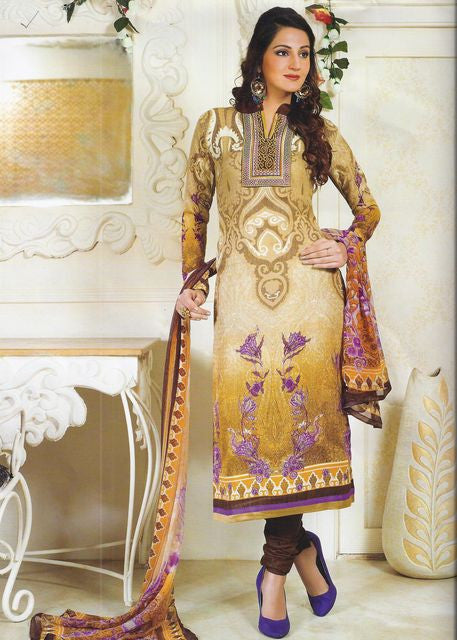 NS11520  Yellow Color Pashmina Designer Suit