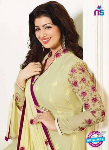 Zubeda 12705 Yellow Georgette Party Wear Suit Online