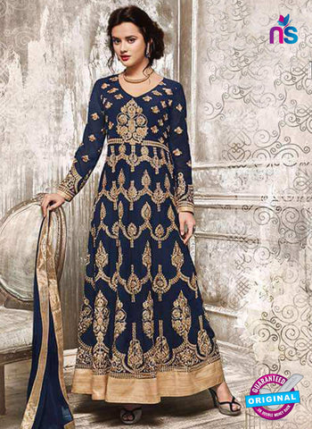 Sajawat 735 Blue Anarkali Suit