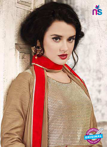 Sajawat 731 Brown Anarkali Suit