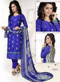 NS11728  Blue Color Pashmina Designer Suit