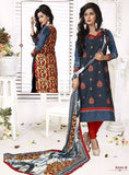 NS11729  Blue Color Pashmina Designer Suit