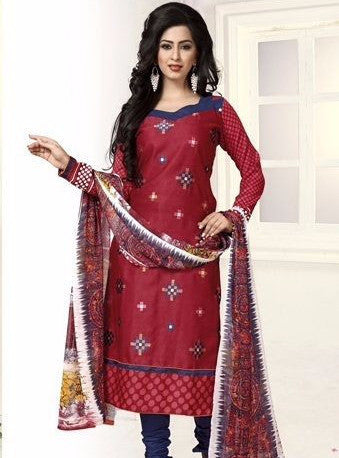 NS11732  Maroon Color Pashmina Designer Suit