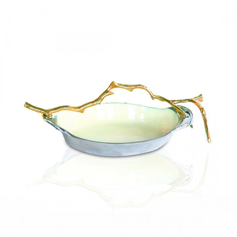 Lodge Oval Dish Sm Oyster